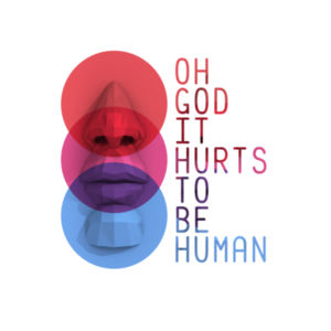 Hurts To Be Human Ladies Tee (All Colors)  Design