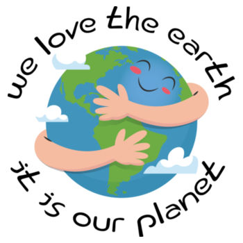 We Love The Earth Design