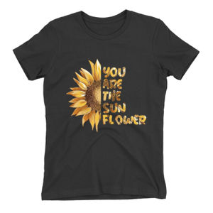 You Are The Sunflower Ladies Tee (All Colors) Thumbnail