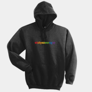 WISH YOU WERE GAY HOODIE  (BLACK) Thumbnail